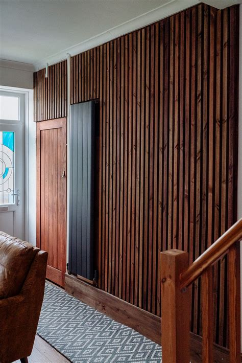 Vertical Wood Slat Wall Diy Art