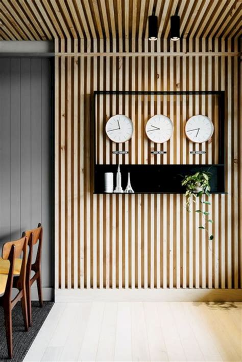 Vertical Wood Slat Wall Diy Ideas