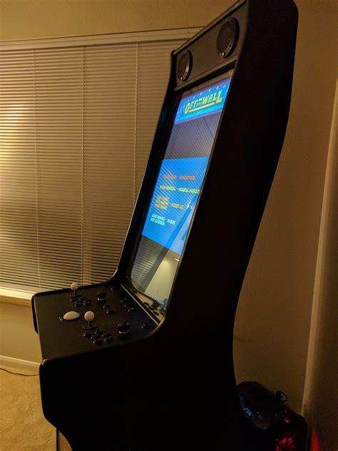 Vertical-Arcade-Cabinet-Plans