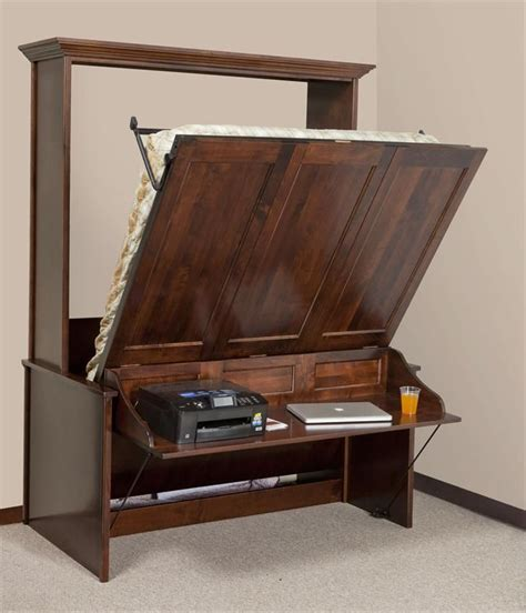 Vertical-Murphy-Bed-With-Desk-Plans