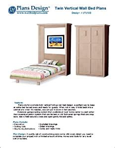 Vertical-Wall-Bed-Woodworking-Plans