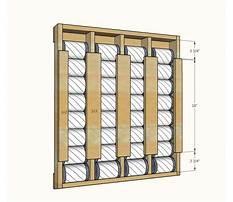 Best Vertical can storage rack plans