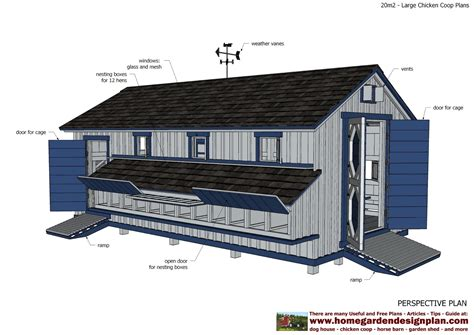 Very-Large-Chicken-Coop-Plans
