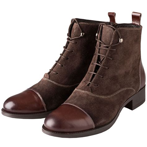 Vestmar Lace-Up Leather Boots