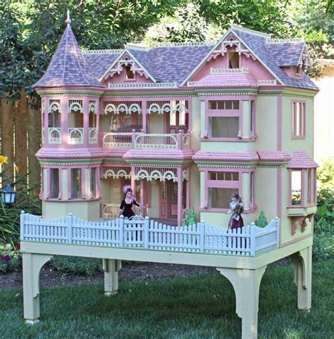Victorian Barbie Dollhouse Woodworking Plans Stampendous