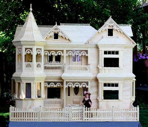 Victorian Dollhouse Woodworking Plans