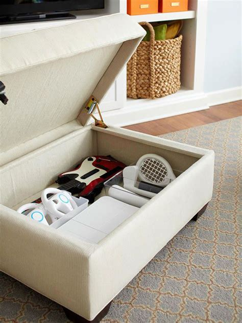 Video Game Console Diy Storage Ottoman