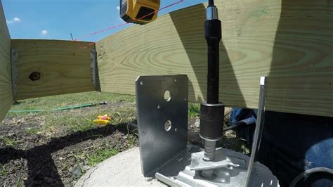 Video How To Install Pergola Posts