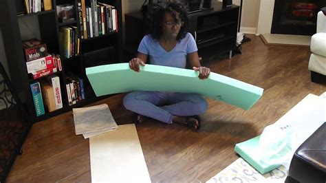 Video How To Make A Bench Seat Cushion