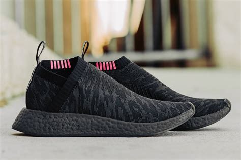 Video Share Adidas Originals Nmd Cs2 Shadow Knit Sneakers Black