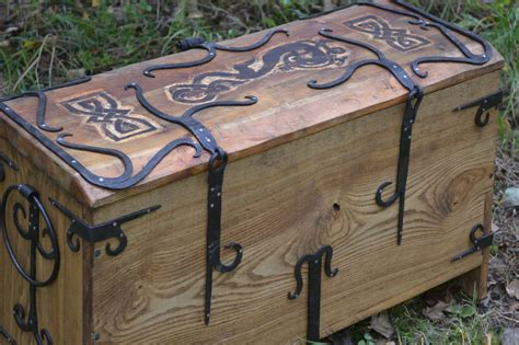 Viking Woodworking Chest