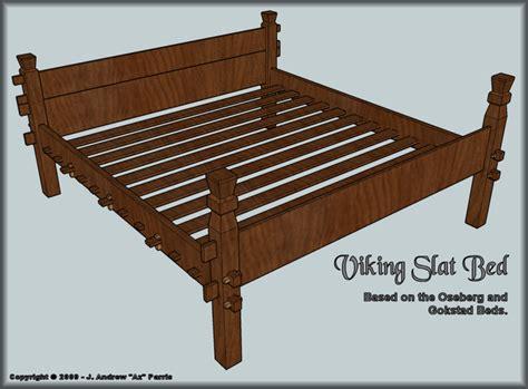 Viking-Slat-Bed-Plans