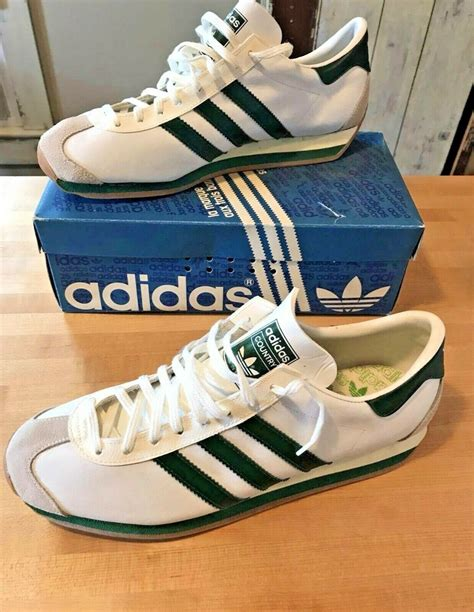 Vintage Adidas Country Sneakers