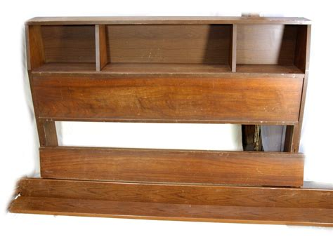 Vintage Bookcase Bed