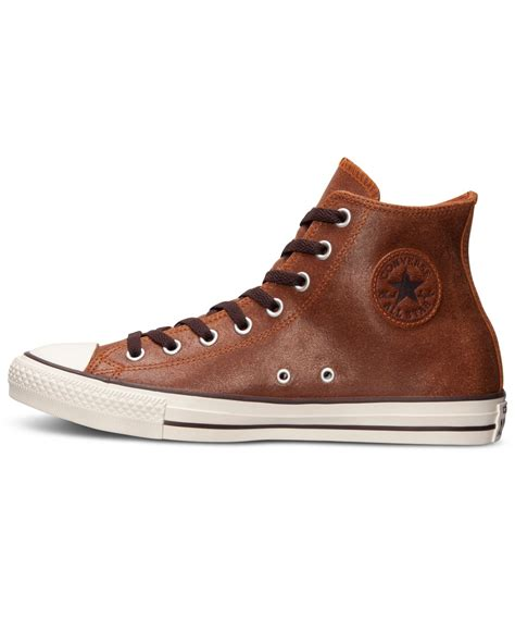 Vintage Converse Leather Sneakers