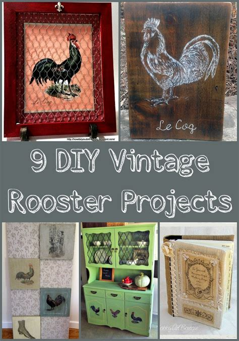 Vintage Diy Projects