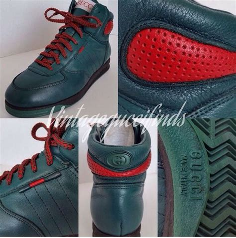 Vintage Gucci High Top Sneakers