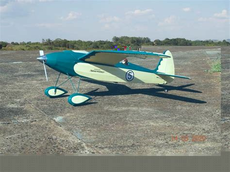 Vintage Model Airplane Plans pacific Ace