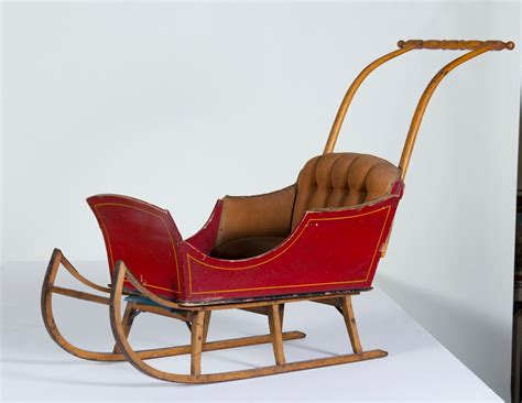 Vintage Snowmobile Childrens Sleigh Pictures For Christmas