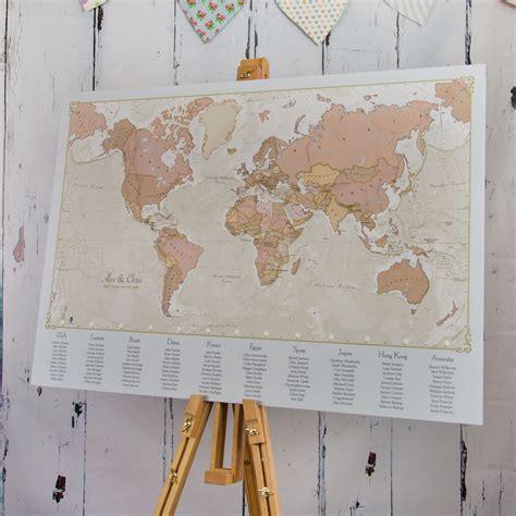 Vintage-Map-Table-Plan