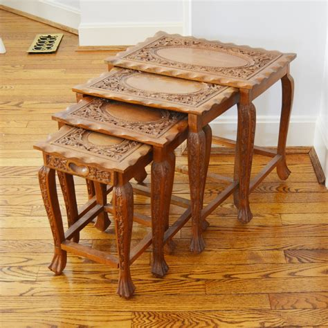 Vintage-Stacking-Tables