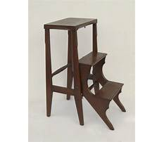 Best Vintage library ladder chair