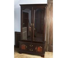 Best Vintage wood gun cabinet