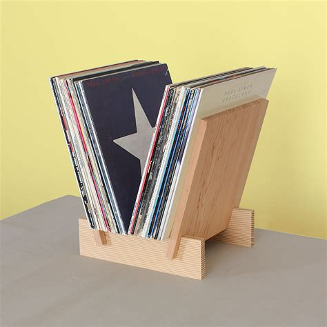 Vinyl Record Display Stand Diy