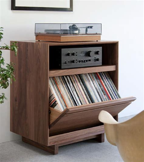 Vinyl Record Storage Furniture Diy