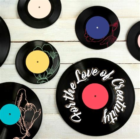 Vinyl Record Table Diy Chalk