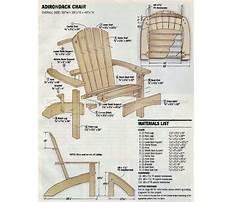 Best Vista adirondack chair plans