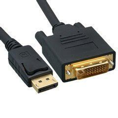 VoojoStore DisplayPort to DVI Video Cable, DisplayPort Male to DVI Male, 15 foot