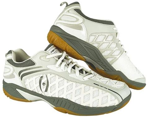 Vortex Men's Indoor Court Shoe (White/Grey)