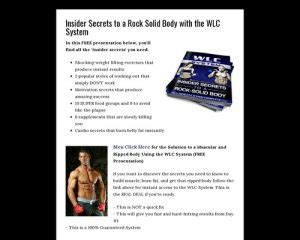 [click]wlc System Insider Secrets To A Rock-Solid Body - Weight .