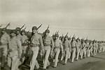 WW2 Army Marching