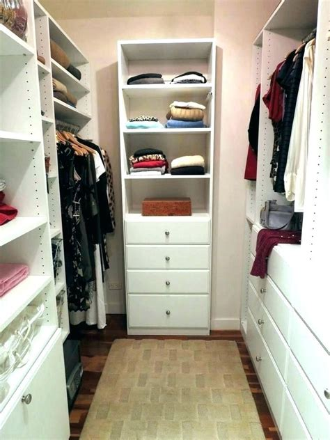Walk In Closet Organizer Plans