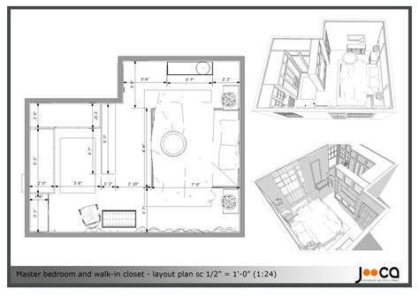 Walk In Closet Plans Dimensions