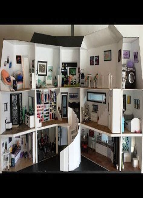 Walk-In-Dollhouse-Plans
