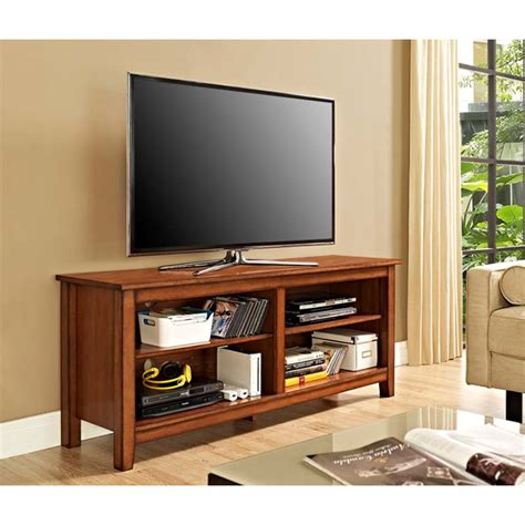 Walker Edison 60 In Brown Wood Tv Stand