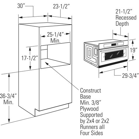 Wall Cabinet Sizes For Microwave