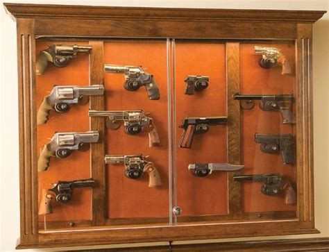 Wall Gun Display Case Plans