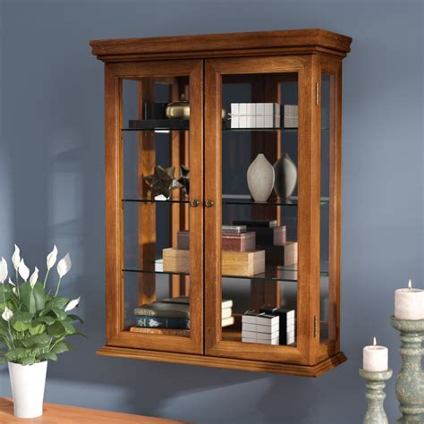 Wall Mount Display Cabinet For Dishes