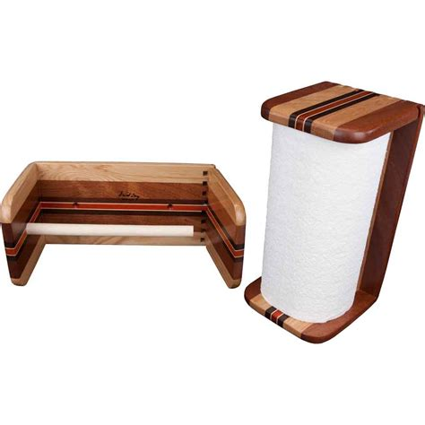 Wall Mount Wooden Paper Towel Holder Plans