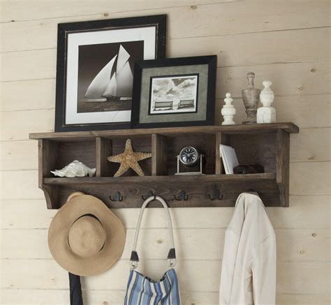 Wall Mounted Coat Rack With Cubbies Plans