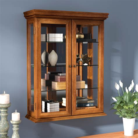 Wall Mounted Curio Cabinets Sale