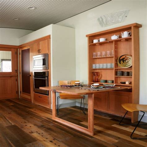 Wall Mounted Folding Dining Table Diy Finger