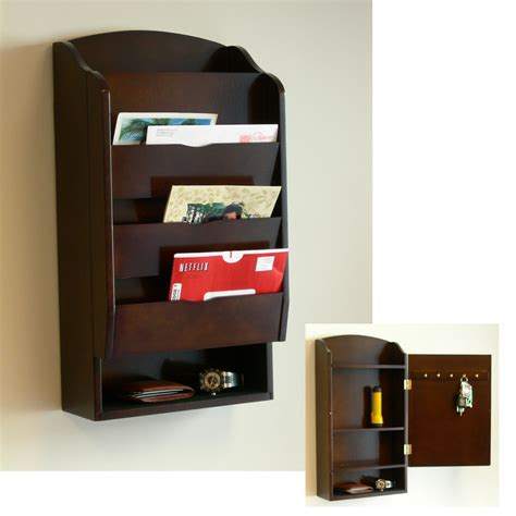 Wall Mounted Mail Organizer Plans