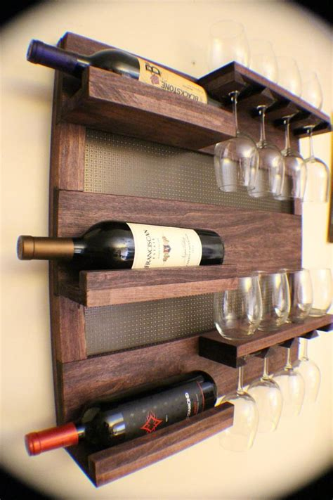 Wall Mounted Wine Rack Plans For Wood