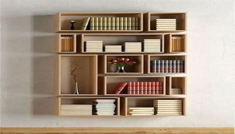 Wall-Bookshelf-Plans