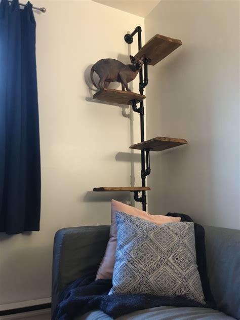 Wall-Cat-Tree-Diy